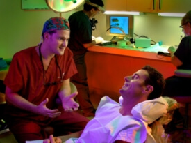 Operation Room Dr.Bauman Hair Transplant Surgery
