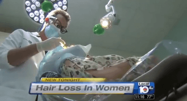 Dr. Alan Bauman uses PRP Hair Regrowth – Florida