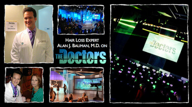 "Watch CBS Television Show ""The Doctors"" Featuring LaserCap with Special Guest Dr. Bauman"