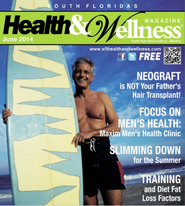 "Health & Wellness Magazine: ""NEOGRAFT is NOT Your Father's Hair Transplant!"" written by Dr. Bauman"