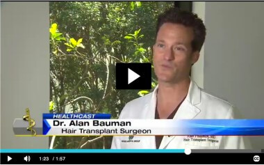 VIDEO: ARTAS Robotic Hair Transplant in Florida on ABC News