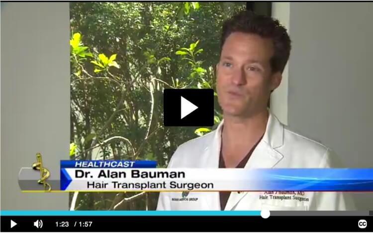 VIDEO: ARTAS Robotic Hair Transplant in Florida on ABC News