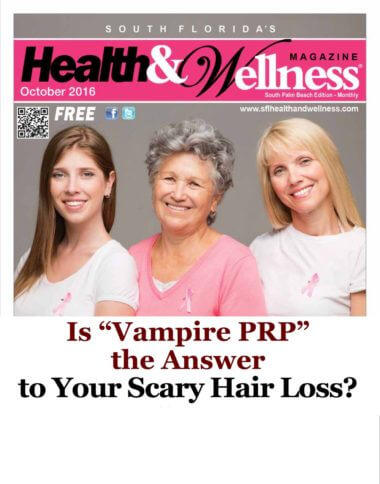 Is Vampire PRP the Answer to Scary Hair Loss?