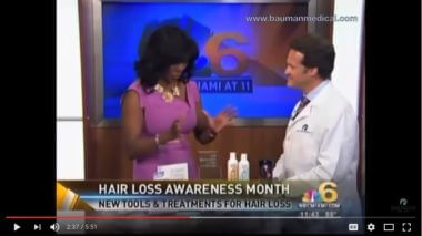 VIDEO: Divorce, Smoking, Stress, Hereditary Causes of Hair Loss and New Treatments