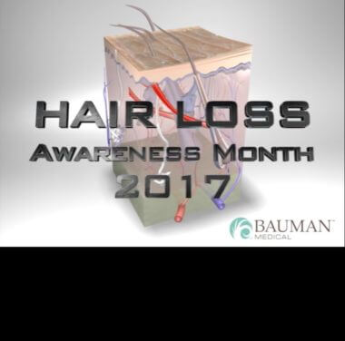 "2017 Hair Loss Awareness Month ""Cheat Sheet"""