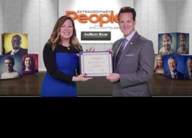 VIDEO: Dr. Bauman Receives Extraordinary Person Award from CBS