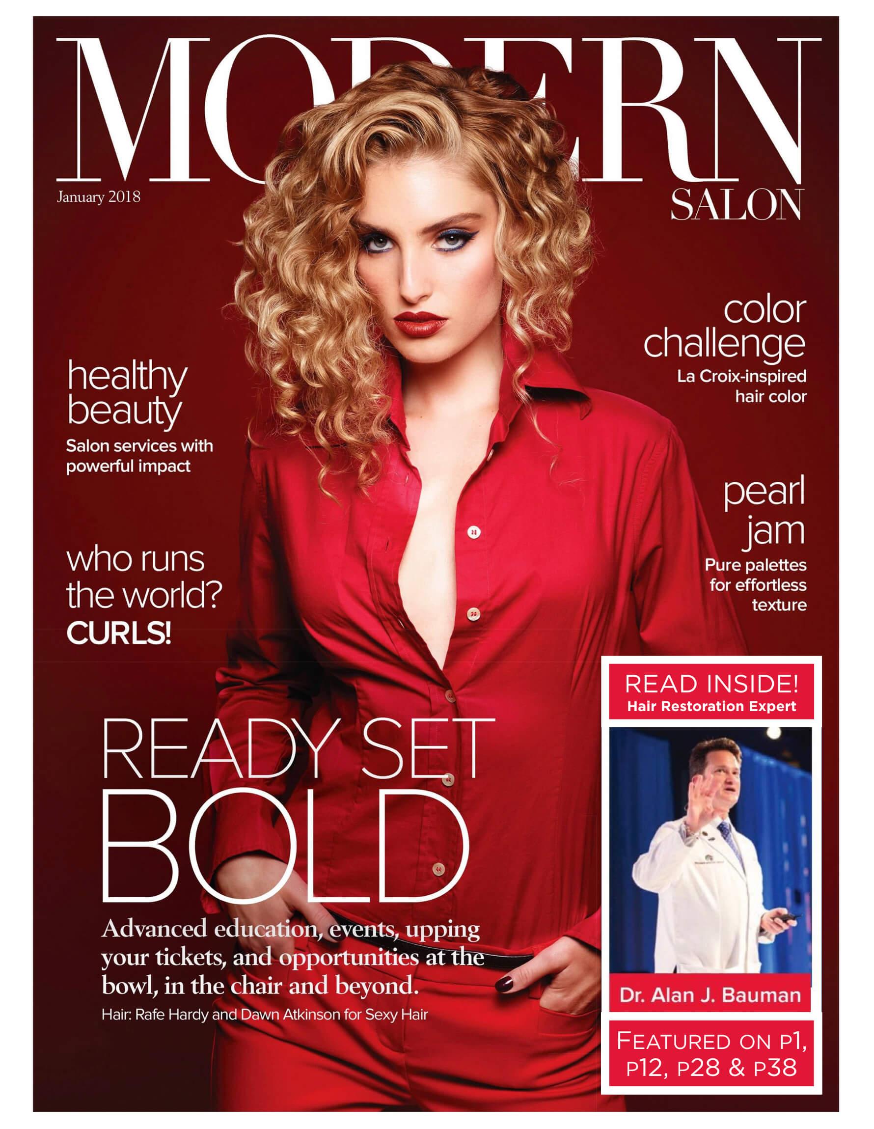 Article Modern Salon Features Hair Restoration Surgeon Dr Alan