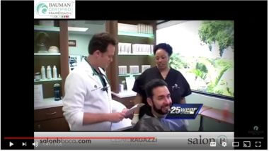VIDEO: The Original Scalp Makeover at Bauman Medical