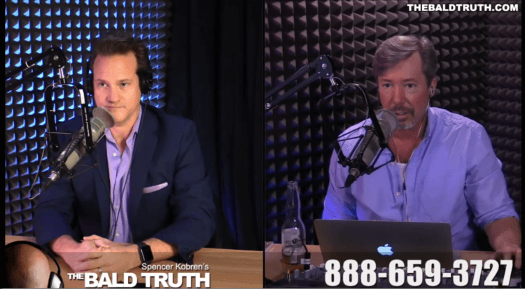 VIDEO: Dr Alan Bauman on Spencer Kobren's 'The Bald Truth' Show 4.2.18