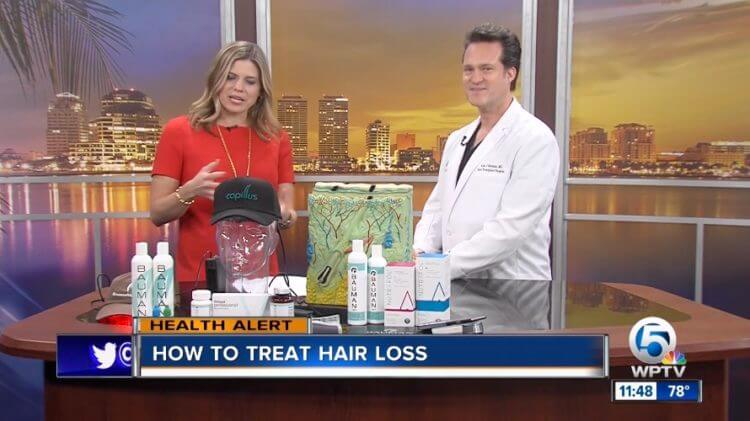 VIDEO: How to Treat Hair Loss w/ SmartGraft on NBC WPTV